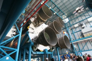 Hauptantrieb einer Apollorakete