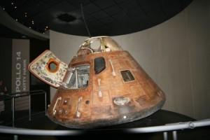 Originalkapsel Apollo 14
