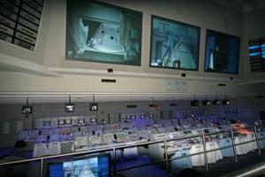 Nachbau des Kontrollraumes von Mission Apollo 13