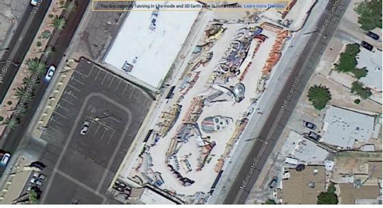 13 Ansicht über Google Satellit