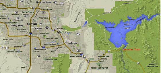 Las Vegas Karte Amerika.Hoover Dam Bei Las Vegas Nv Debby Faya In Amerika